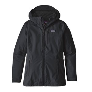 LADIES PATAGONIA WINDSWEEP HOODIE BLACK