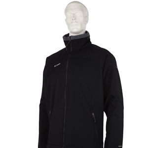 COLUMBIA SOFTSHELL JACKET MENS (BLACK)