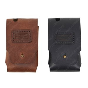 LEATHER CASE FOR CINE RT HANSDET (TAN)