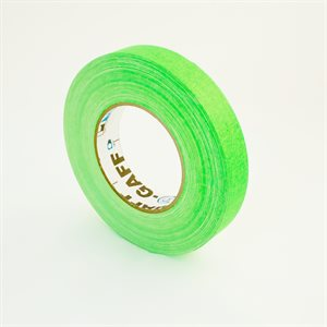 FLUORESCENT GREEN TAPE 1""