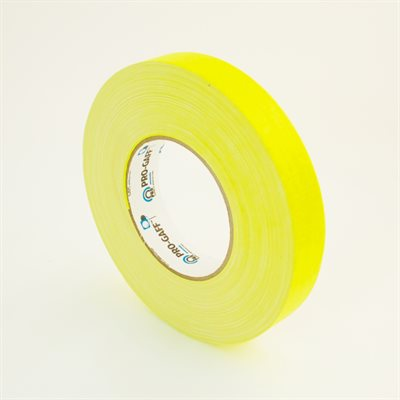 FLUORESCENT YELLOW TAPE 1""