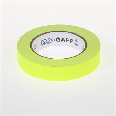 "FLUORESCENT YLW TAPE 1"" 25M"