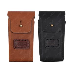 LEATHER HILTI PD-E POUCH TAN