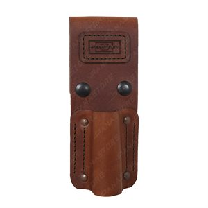LEATHER TORCH POUCH MAG / SCOR