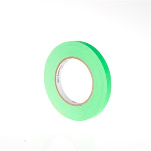 "ARTISTS PAPER TAPE 1 / 2"" FLUORESCENT GREEN"