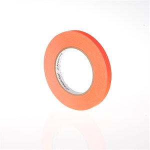 "ARTISTS PAPER TAPE 1 / 2"" FLUORESCENT ORANGE"