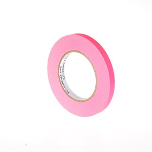 "ARTISTS PAPER TAPE 1 / 2"" FLUORESCENT PINK"