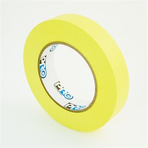 "1"" YELLOW PAPER TAPE"