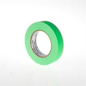 FLUORESCENT PAPER TAPE GREEN 1""