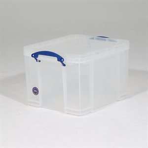 REALLY USEFUL BOX 35 LTR CLEAR