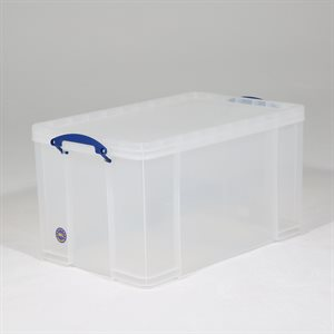 REALLY USEFUL BOX 84 LTR CLEAR