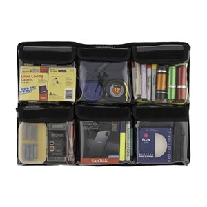CAMERA ESSENTIALS LID ORGANISER FOR PELI 1495  /  1550